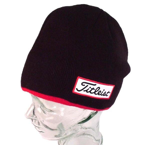 71529d09816 TITLEIST Winter Golf Hat Beanie Stocking Cap. M 5c6d049efe5151c839b2584d